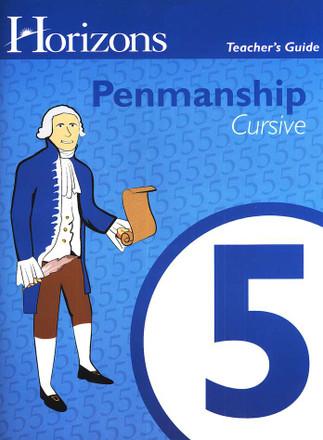 Horizons Penmanship Grade 5 Teachers Book