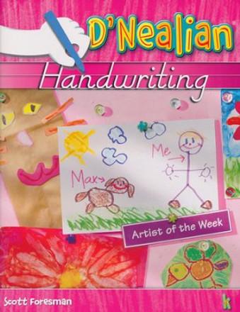 D'Nealian Handwriting Grade K Student Workbook 2008