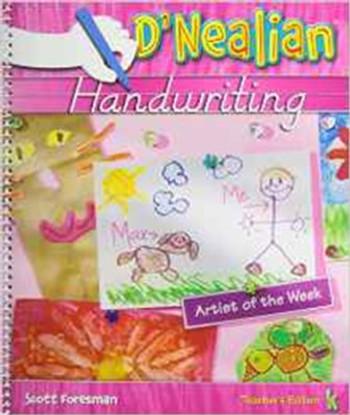 D'Nealian Handwriting 2008 Teacher Edition Grade K