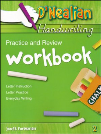 D'Nealian Handwriting Practice and Review Student Workbook Grade 2