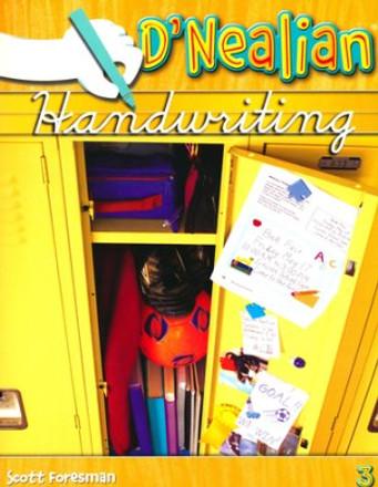 D'Nealian Handwriting 2008 Student Workbook Grade 3