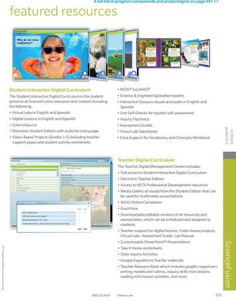 Science Fusion Grade 6-8 Module J: Sound & Light Teaching Resources DVD