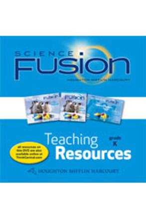 Science Fusion Grade K Teaching Resource DVD