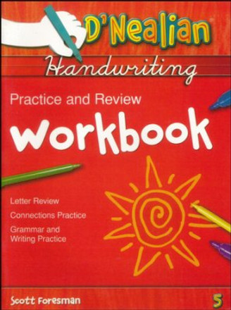 D'Nealian Handwriting Grade 5 Practice and Review Student Workbook