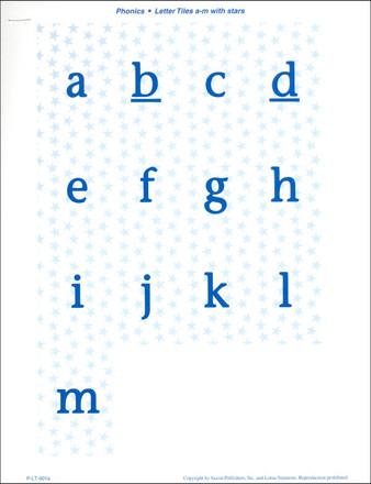 K letter tiles