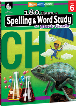 180 Days of Spelling and Word Study Grade 6