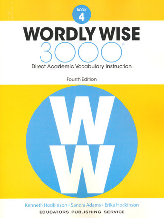 Wordly Wise 3000 4th Edition Book 4 Student Book