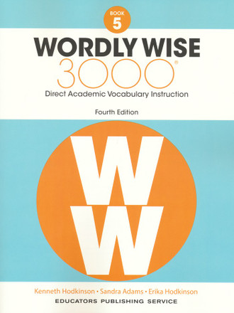 Wordly Wise 3000 4th Edition Book 5 Student Book