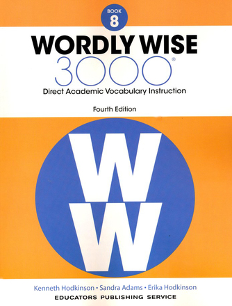 Wordly Wise 3000 4th Edition Book 8 Student Book
