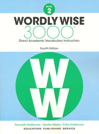 Wordly Wise 3000 4th Edition Book 2 Student Book