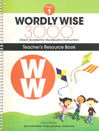 Wordly Wise 3000 4th Edition Book 1 Teacher Resource Book