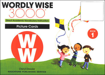 Wordly Wise 3000 4th Edition Book 1 Word/Picture Cards