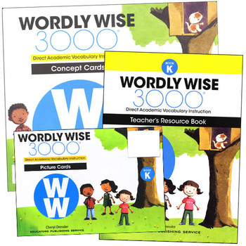 Wordly Wise 3000 4th Edition Book K Teacher Resource Package