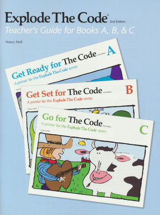 Explode The Code Teachers Guide for Books A, B, C