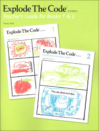 Explode The Code Teachers Guide for Books 1 & 2