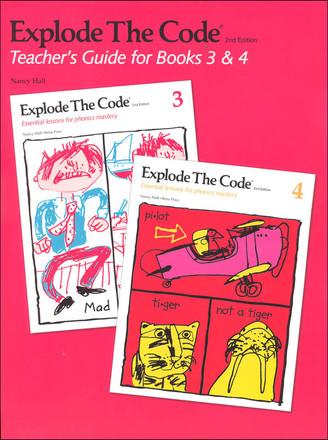 Explode The Code Teachers Guide for Books 3 & 4