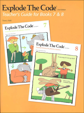 Explode The Code Teachers Guide for Books 7 & 8