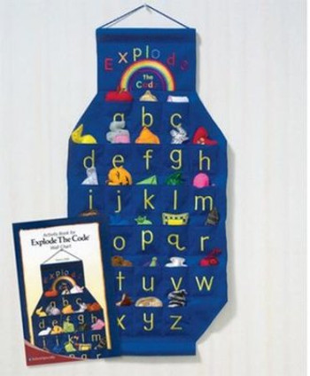 Explode the Code Wall Chart & Activity Book