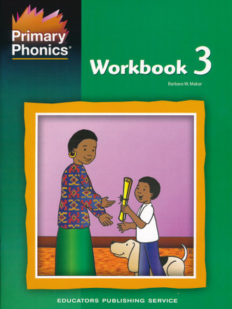 Primary Phonics Workbook 3 Grades K-2