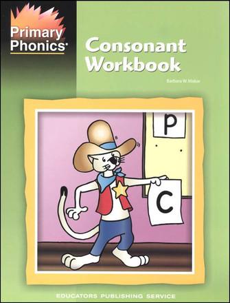 Primary Phonics Consonant Workbook