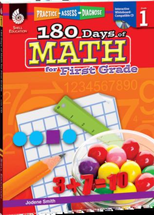 180 Days of Math Grade 1