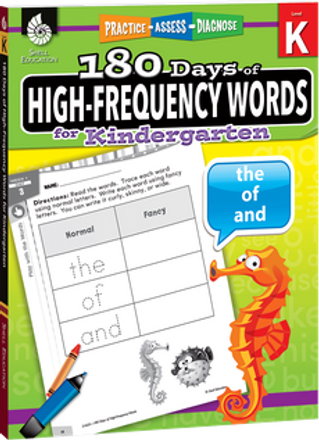 180 Days of High Frequency Words Grade K