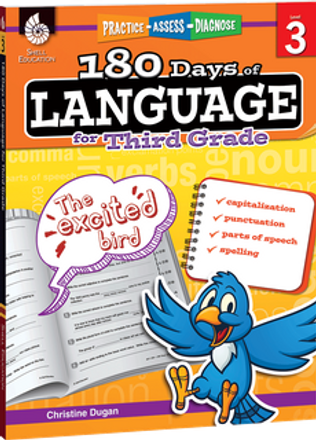 180 Days of Language Grade 3