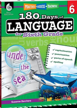180 Days of Language Grade 6