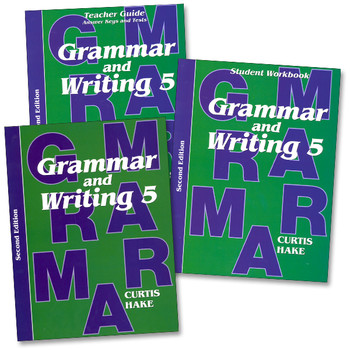Saxon Writing and Grammar Grade 5 Bundle, 2nd Edition