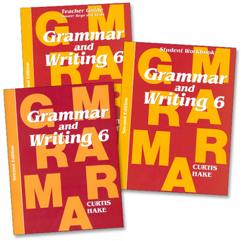 Saxon Writing and Grammar Grade 6 Bundle, 2nd Edition