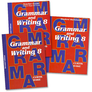 Saxon Writing and Grammar Grade 8 Bundle, 2nd Edition