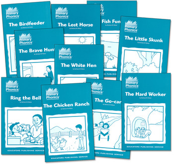 Primary Phonics Storybooks 4 Starter Set Grades K-2