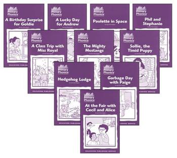Primary Phonics Storybooks 6 Starter Set Grades K-2