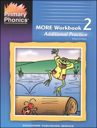Primary Phonics More Workbook 2 Grades K-2