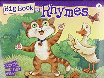 Words Their Way: Big Book of Rhymes - Level K