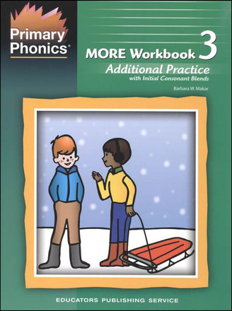 Primary Phonics More Workbook 3 Grades K-2