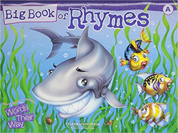 Words Their Way: Word Study in Action Grade 1 Big Book of Rhymes - Level A