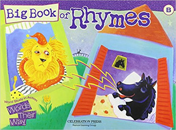 Words Their Way: Word Study in Action Grade 2 Big Book of Rhymes - Level B 2005