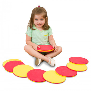 two color counters with girl