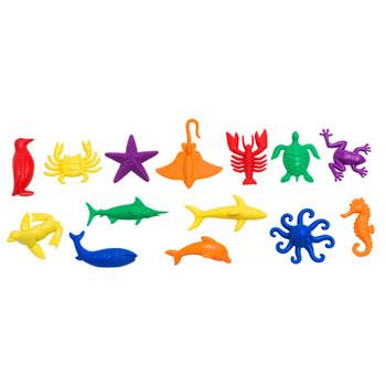 Sea Creature Counters, Set of 84