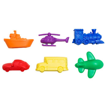 Transportation Counters, Set of 72