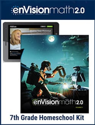 EnVision Math 2.0 Grade 7 Bundle (2017 Version)