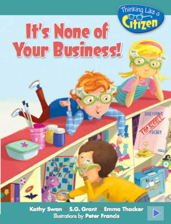 It's None Of Your Business Reader Grade 2 - 6 pack