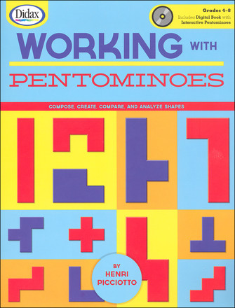 Working with Pentominoes - w/ CD, Grades 4-8