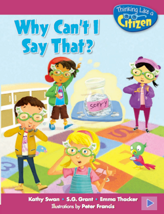 Why can't i say that book cover