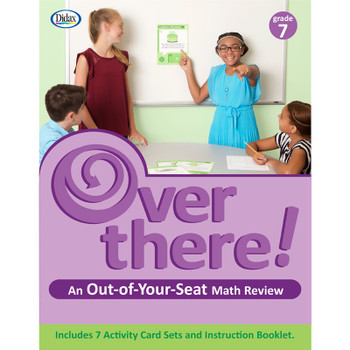 Over There! Math Cards, Grade 7