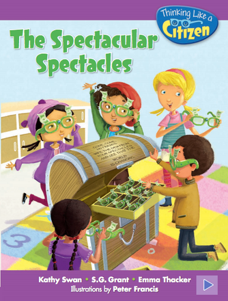 The Spectacular Spectacles Reader Grade K - 6 pack