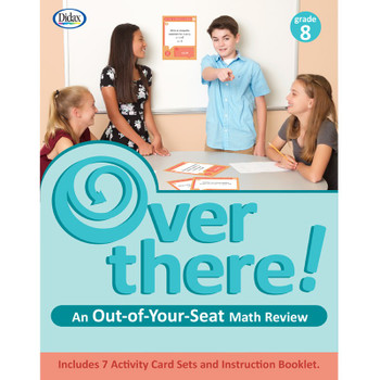Over There! Math Cards, Grade 8