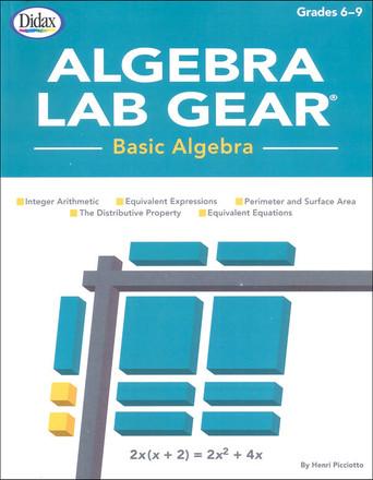 Algebra Lab Gear Teaching Guild- Basic Algebra