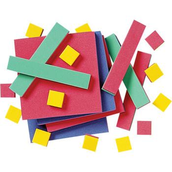 EasyShapes Algebra Tiles - Foam (35 pieces)